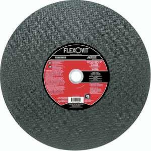"""HIGH PERFORMANCE by Flexovit F4818 12""""x3/32""""x1"""" A30RB  -  FAST CUT Reinforced Chopsaw Cutoff Wheel"""