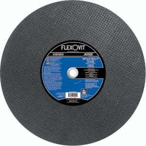 """HIGH PERFORMANCE by Flexovit F9232 20""""x3/16""""x1"""" A30SB  -  LONG LIFE Reinforced Stationary Saw Cutoff Wheel"""