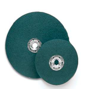 "FLEXON by Flexovit 32509 7""x5/8- 11 QUICK-SPIN ZA60  -  HIGH PRODUCTION Resin Fiber Disc"