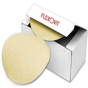 "HIGH PERFORMANCE by Flexovit 28180 5""xNOHOLES A120-B Pressure Sensative Adhesive (PSA) Sanding Disc"