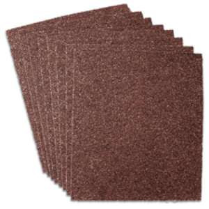 "HIGH PERFORMANCE by Flexovit R2022 9""x11"" A50 Sandpaper Sheet"
