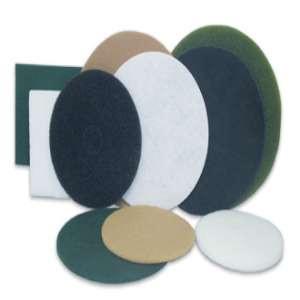 """SPECIALIST by Flexovit X1823 12"""" THIN WHITE POLISHING Nylon Floor Pad"""