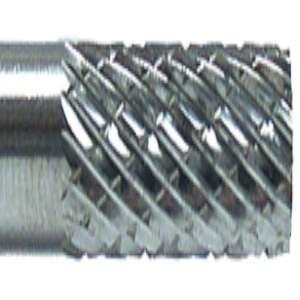 "HIGH PERFORMANCE by Flexovit VA12L1 1/8""x9/16""X1/8"" SHANK CYLINDER DOUBLE CUT Carbide Bur"