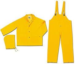 River City 3-Piece Rain Suit, Yellow