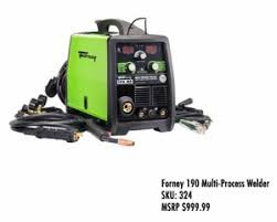 Forney 190 Multi-Process Welder