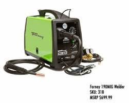 Forney 190 MIG Welder