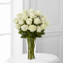 TheWhite Rose Bouquet