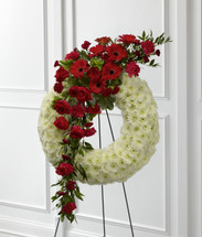 The Graceful Tribute Wreath