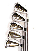 Cleveland CG-16 Satin Chrome Iron Set 6-PW w/ Project X Steel 5.0 Regular +