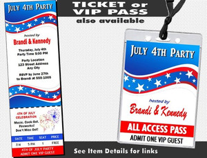 4th of July Party Invitation Other Styles