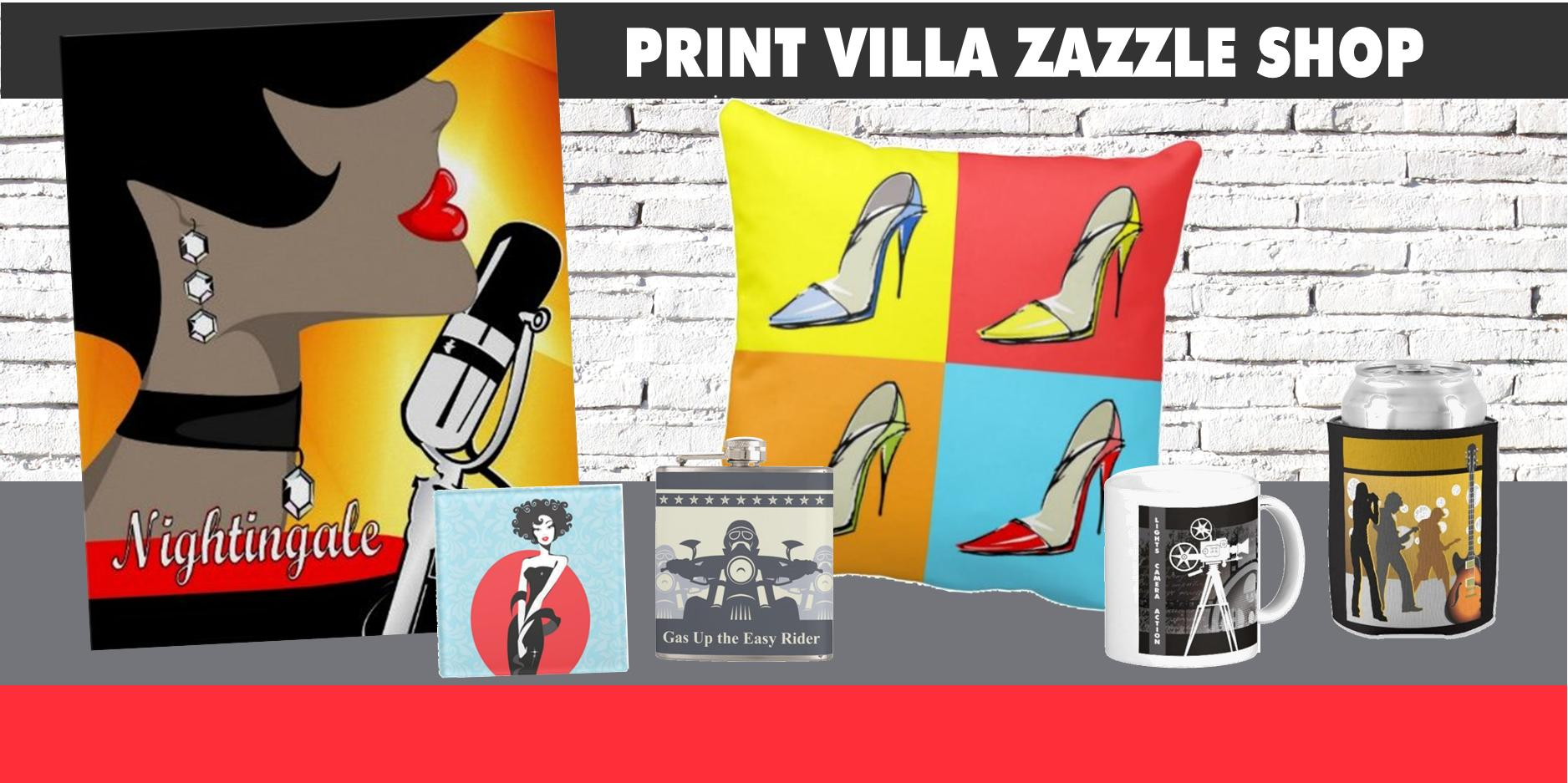 Print Villa Zazzle Shop