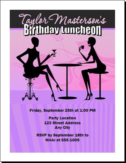 Invitation for birthday lunch zrom birthday lunch invitation wording awesome elegant birthday lunch filmwisefo