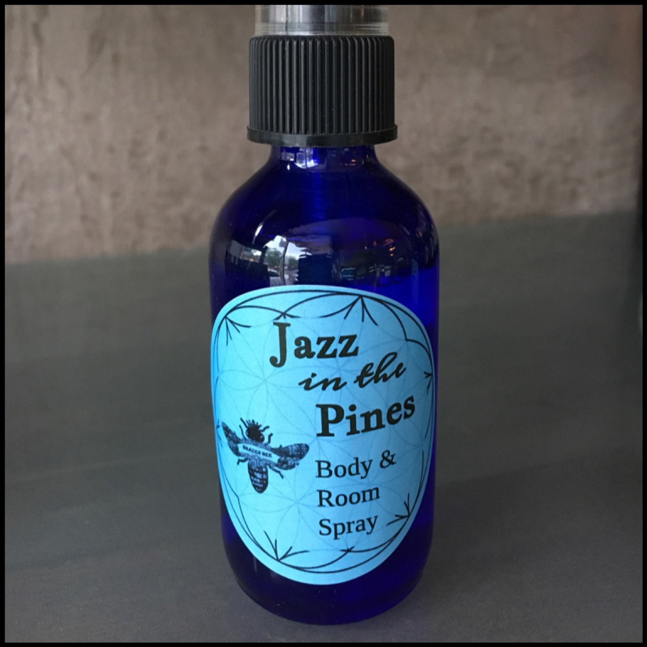 Jasmine Body and Room Spray: Jazz in the Pines. Pure Essential Oils.