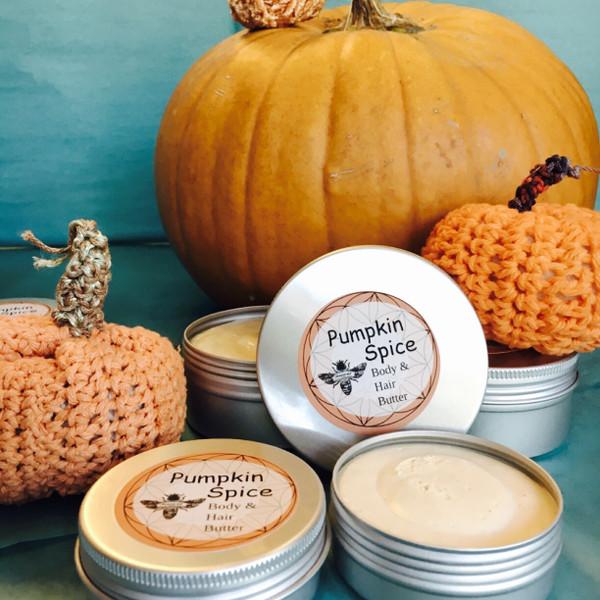 Pumpkin Spice | HAIR & BODY BUTTER 2 OZ