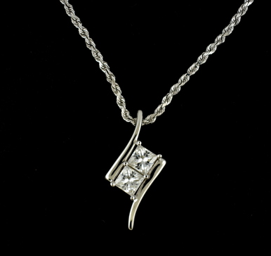 moissanite pendant youtube watch carat round