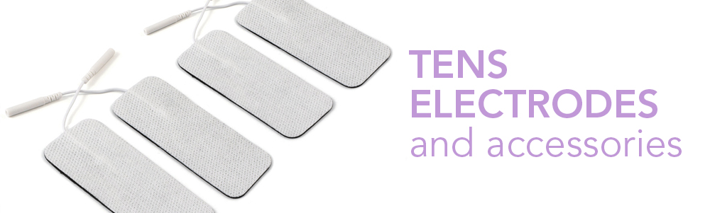 TENS unit electrodes and accessories