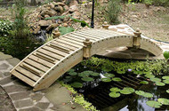 14' High-Rise Walkway Garden Bridge