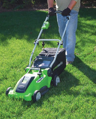 "16"" 10A 2-in-1 Electric Mower"