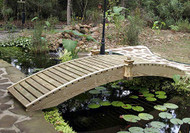 18' Standard Walkway Garden Bridge