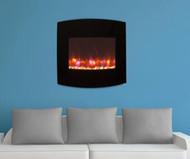 "36"" Gallery Radius Linear Electric Fireplace"