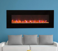 "58"" Gallery Linear Electric Fireplace"