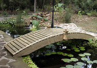 8' Standard Walkway Garden Bridge