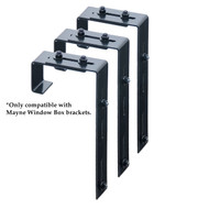 Adjustable Deck Rail Brackets (3 Pack)