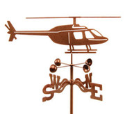 Airplane Helicopter Weathervane