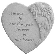 Always In Our Thoughts...Memorial Stone