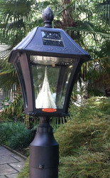 "Baytown Solar Lamp (3""Pole Mount)"