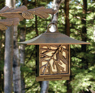 Pinecone Suet Feeder - French Bronze