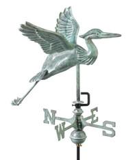 Blue Heron Garden Weathervane WV242-A