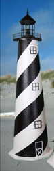 Cape Hatteras E-Line Stucco Lighthouse (4')