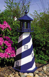 Cape Hatteras Navy with White