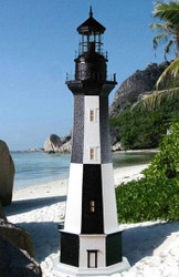 Cape Henry Stucco Lighthouse 8' High