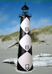 Cape Lookout E-Line Stucco Lighthouse (4')