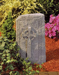 "Celtic Cross Obelisk (23""H)"