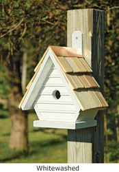 Heartwood Chickadee Birdhouse