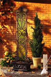 "Copperfalls Trellis Patio Waterfall (75""H)"