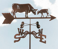 Cow & Calf Weathervane