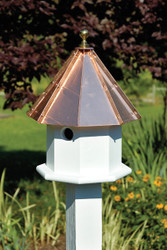 Heartwood Oct-Avain Double Birdhouse