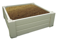 "EcoConcepts Raised Garden Bed (4' x 4' x 8""H)"