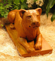 Female Lion Statuary