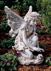 "Flower Fairy Statue (17""H)"