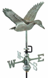 Flying Duck Garden Weathervane