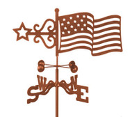 American Flag Weathervane
