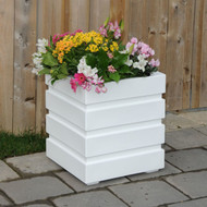 "Freeport Square Planter 18"" x 18"""