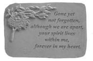 Gone Yet Not Forgotten...w/Birds Nest Memorial Stone