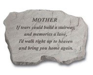 Family Member If Tears... Memorial Stone