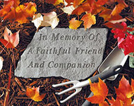 In Memory Of... Pet Memorial Stone